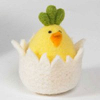 "4"" Chick in Egg Shell"