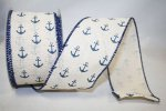 Nautical Ribbon - Anchor Canvas - WE (#92255W)