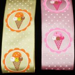 "1 1/2"" Ice Cream Ribbon - WE (#51862-166)"