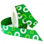 "1 1/2"" Morex Lucky Shamrock Ribbon (#942-MO)"