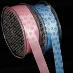 "5/8"" Inga's Swirl Satin Ribbon"