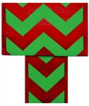 Holiday Chevron Ribbon - Ziggy 2