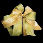 Taffeta Fall Leaves Ribbon - Wired (#21091-153-AR)