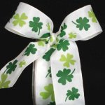"1 1/2"" Shamrock Ribbon - WE(#28261-156)"