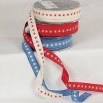"5/8"" Star Print Ribbon (#130-129)"