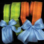 Taffeta Ribbon - Retro Blocks - WE