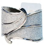Beverly Hills Corsage Cuff - Sterling (#BE1407)