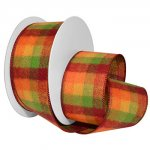 October Plaid Ribbon - WE (#7652-MO)