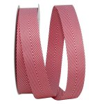Candy Cane Herringbone Ribbon