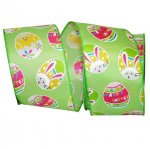 "2 1/2"" Easter Egg Fun Ribbon - Wire Edge"