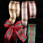 "1 1/2"" Wired French Plaid (38969-166)"