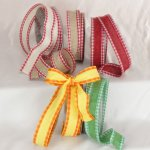 Burlap de Cuisine Ribbon - Wired (31891-156)