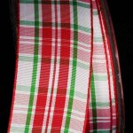 "1 1/2"" Woven Narrow Plaid - WE (#52209R-166-S)"