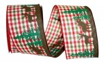 "2 1/2"" Moose Woods Country Gingham - WE (#93063W)"