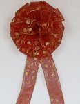 Glisten- Sheer Christmas Bow (#1554)