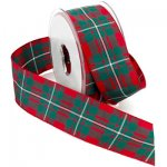 Edinburgh Tartan Plaid Ribbon