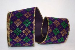 "2 1/2"" Mardi Gras Diamond - WE (#90603W)"