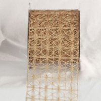 Wired Jute Woven Netting (#13052-112)