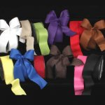 "1 1/2"" Fine Taffeta Ribbon - Wire Edge"