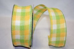 Citrus Check Burlap WE (#92251W)