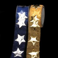 Star Organza Ribbon