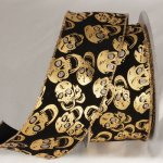 "3"" Wired Skulls Ribbon - WE (#156-34893)"