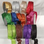 "1 1/2"" Holiday Sparkle Ribbon - WE (#34461-156)"