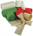 Wide Burlap Ribbon (#48-123)