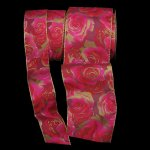 "1 1/2"" Golden Rose Ribbon WE (#16192-156)"