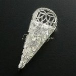 Boutonniere Holder - Filigree Swirl (#ZM501)