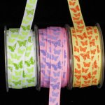 Inga's B-fly Grosgrain Ribbon