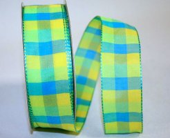 "1 1/2"" Plaid Bright 3 - WE (#25750W)"