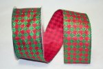 "2 1/2"" Holiday Houndstooth - WE (#92079W)"