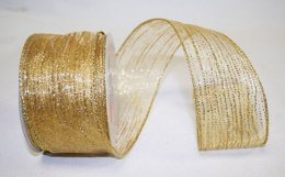 "2 1/2"" Rainfall Sheer Ribbon - Wire Edge"