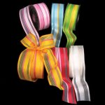 Taffeta Lines Ribbon - WE (#20721-156)
