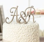 Gold Monogram Letter (#MG540)