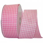 "2 1/2"" Great Gingham Check 3 Value Ribbon Wire Edge"
