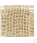 "2 1/2"" Burlap Ribbon - Non-Wired (#25449)"
