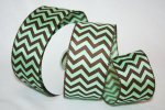 "2 1/2"" Pistachio Chevron WE (#90785W)"