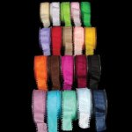 Picot Edge Taffeta Ribbon - Wire Edge (#166-33462)