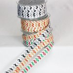 "5/8"" Glitter Chevron Ribbon (#53510-166)"