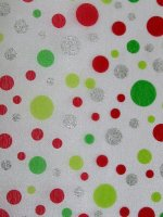 Dazzling Dots Christmas Fabric by the Yard (#2514)