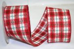 "2 1/2"" Plaid Winter Stitched Flannel - WE (#092496W)"