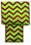 Chevron Glitter Ribbon - WE - 4 Colors (#90654W)