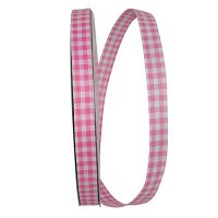 "5/8"" Great Gingham Check 3 Value Ribbon Wire Edge"