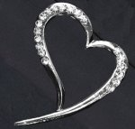 Bouquet Buckle - Flowing Heart - 1PC (ZZBB2203)