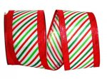 Candy Cane Lame Edge - WE (#93038W)