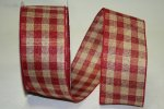 "2 1/2"" Burgundy Lodge Plaid - WE (#92044W-BB)"
