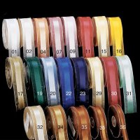 Satin Center Organdy Ribbon (#81630-143)