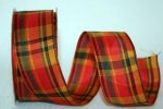 "1 1/2"" Fall Plaid 2 -WE (#25255W)"